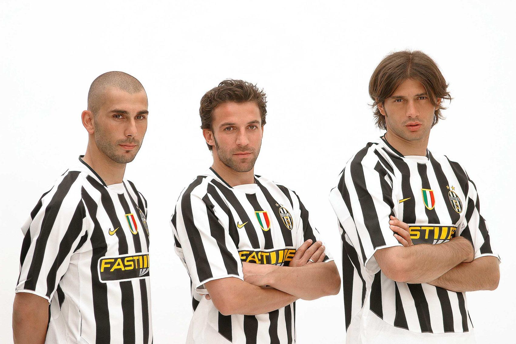 Marco Di Vaio, Alessandro del Piero, Alessio Tacchinardi